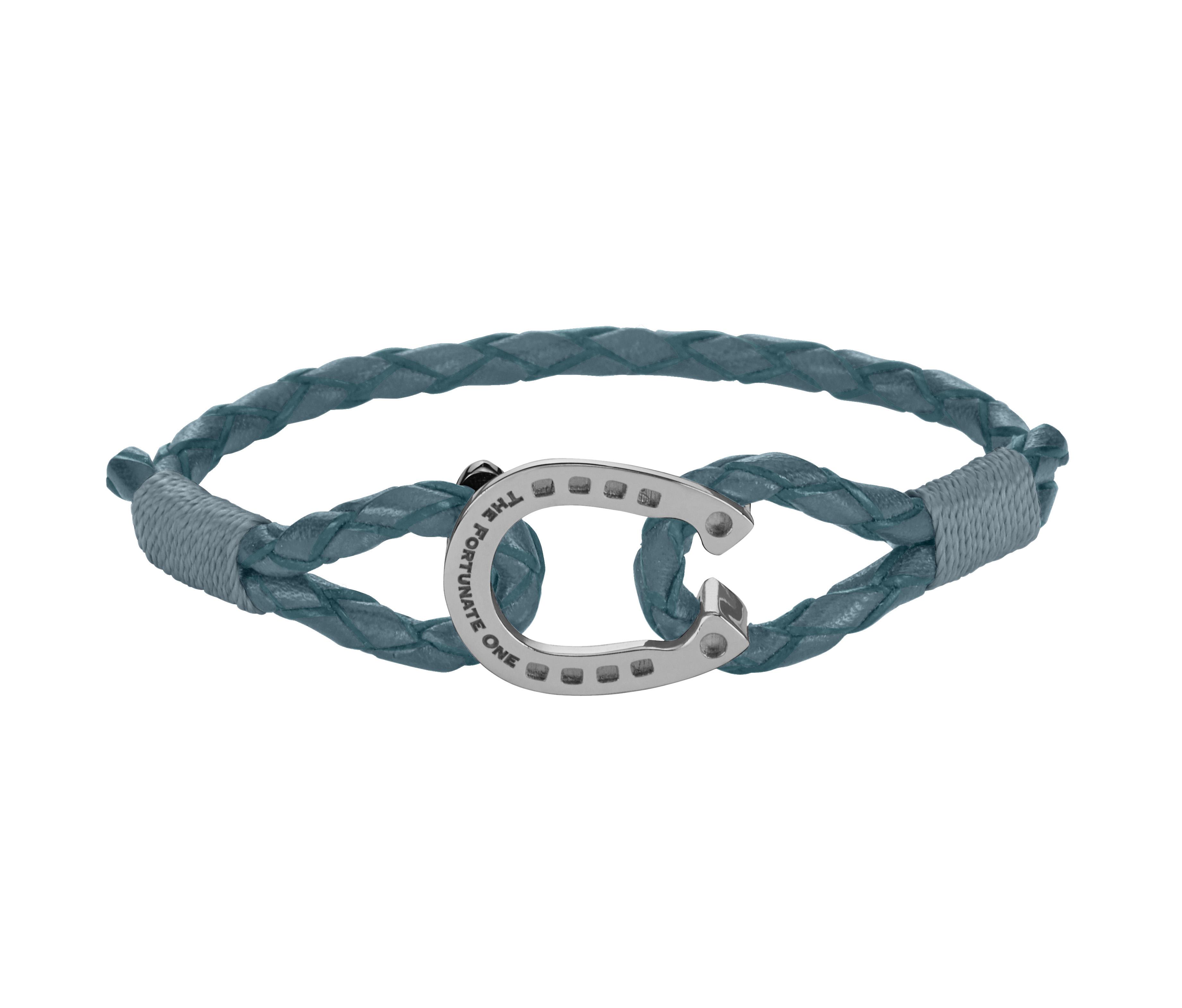 Horseshoe-Steel Smoky Andalusian-jewellery-front